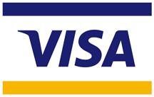 Visa, Mastercard and American Express