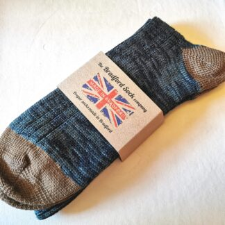 Wool Socks in Camouflage by The Bradford Sock Company