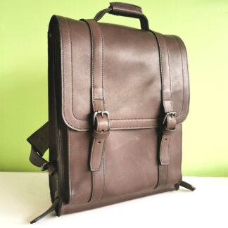 Large Bookbag by Henry Tomkins Leather main