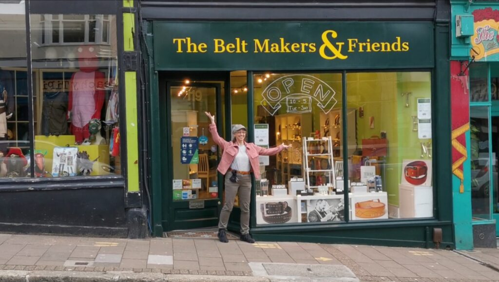 Video thumbnail of me outside the rebranded shop front