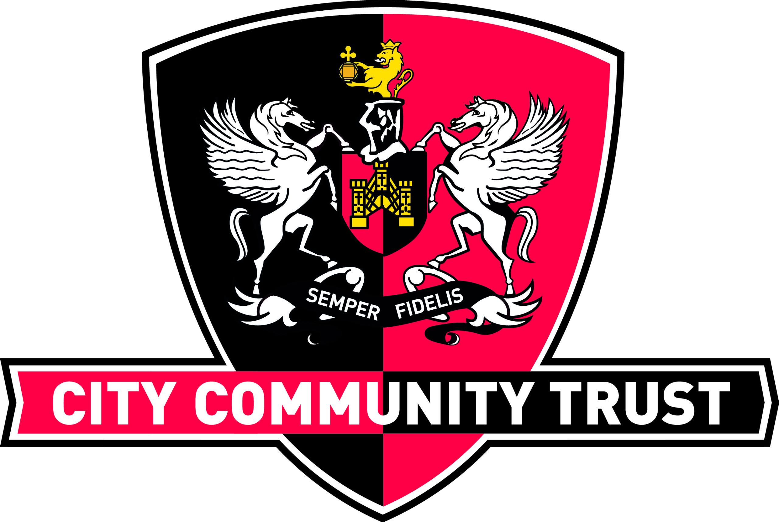 Exeter CITY Community Trust logo