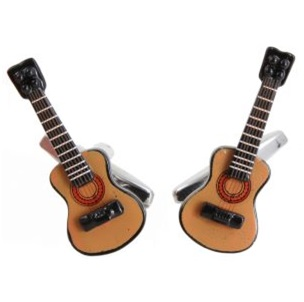 Cufflinks - Acoustic Guitars in Gift Box