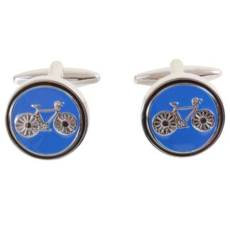 Cufflink - Bicycles on Blue 90-0112 from Dalaco
