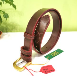 SALE - Belt - Classic Plus in Burgundy and Red